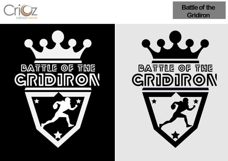 Konkurrenceindlæg #                                        26                                      for                                         Design a Logo for Battle of the Gridiron