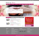 Graphic Design Contest Entry #4 for Website Design for Wedding Guru