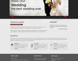 nº 19 pour Website Design for Wedding Guru par logoforwin