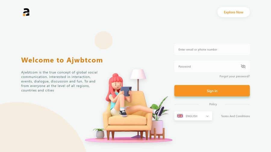 Contest Entry #                                        4                                      for                                         UI Design for web - 27/02/2021 02:12 EST