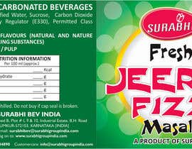 #13 para Redesigning of label for beverage por dinesh0805