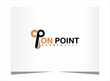#58 for Design a Logo for ON POINT BARBER SHOP by adrianusdenny