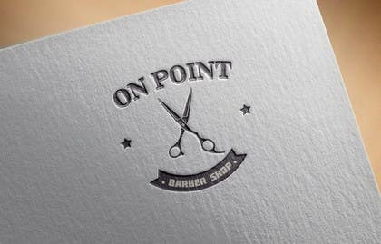 #92 for Design a Logo for ON POINT BARBER SHOP by nasser3mad