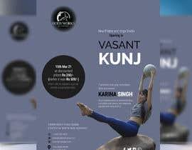 #57 for Design a Pilates and Yoga Studio Flyer by liponrahman