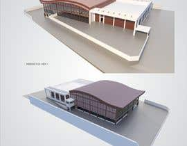 #7 for SKETCHUP 3D model of a building from pictures and plan #4 by yusaldy