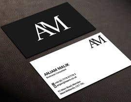 Nro 420 kilpailuun Business Card Design  - 28/02/2021 09:55 EST käyttäjältä kailash1997