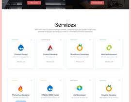 sharifkaiser tarafından Frontend UI Design for New Website için no 3