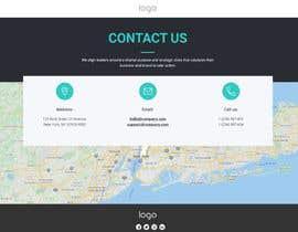 #42 for Single Page Basic Business Info Website by Abderrahmanea