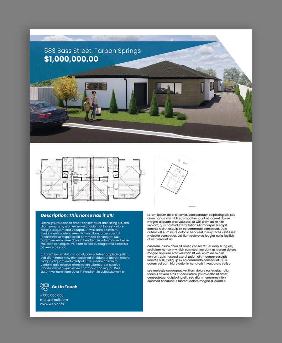 Proposition n°                                        3                                      du concours                                         One Page property summary