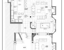 Nro 37 kilpailuun Floor plan Redesign käyttäjältä yiselaky