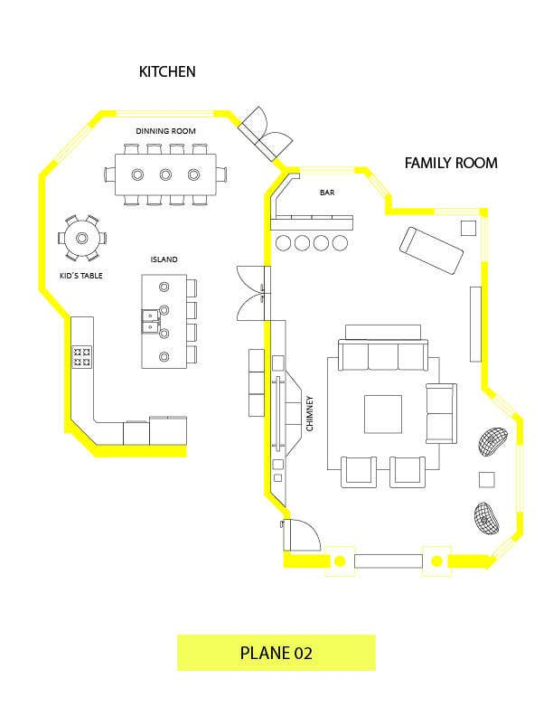 Konkurrenceindlæg #                                        34                                      for                                         Floor plan Redesign