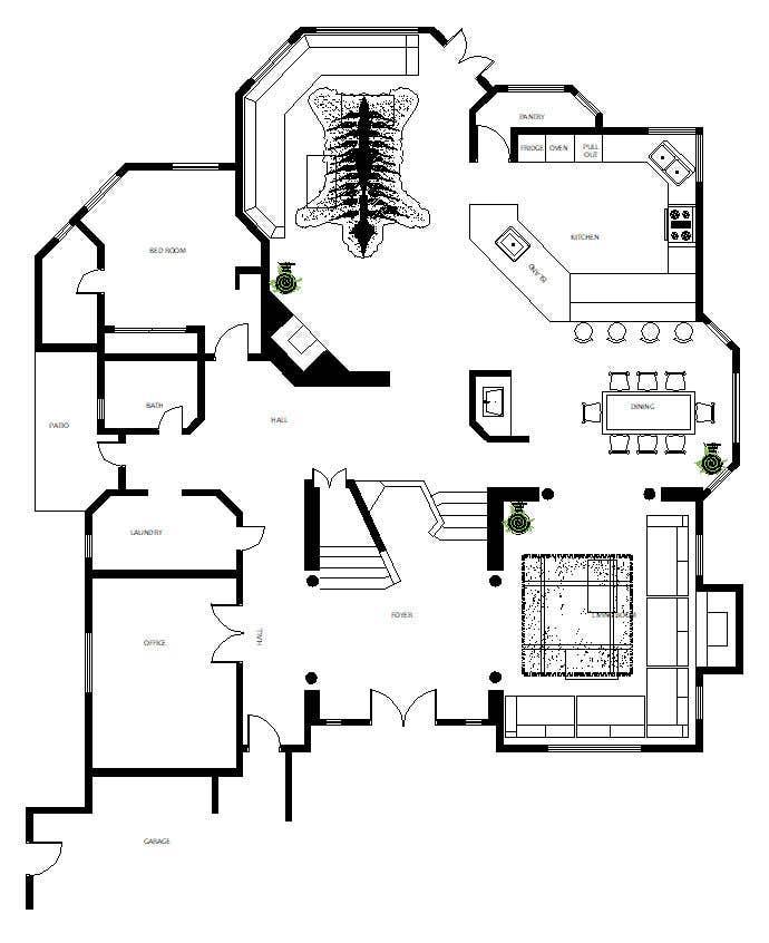 Konkurrenceindlæg #                                        23                                      for                                         Floor plan Redesign
