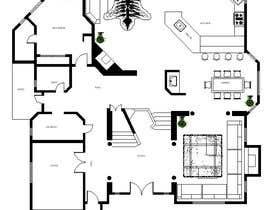Nro 23 kilpailuun Floor plan Redesign käyttäjältä alfaysal87