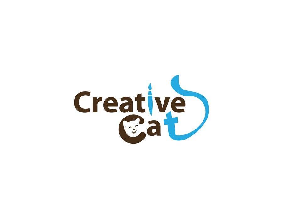 Penyertaan Peraduan #                                        36                                      untuk                                         Creative Logo for Creative cat
