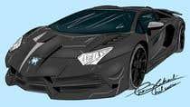 Proposition n° 13 du concours Graphic Design pour Create an illustration or a cartoon-ish car