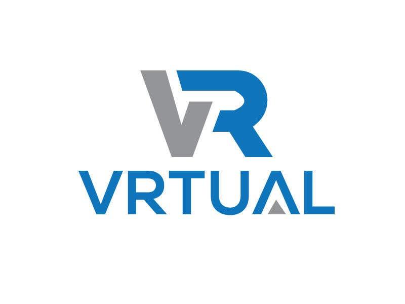 """Intrarea #                                        111                                      pentru concursul """"                                        logo for my business - VRtual                                     """""""