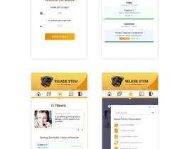 #72 untuk Redesign my mobile layout for my web app oleh SAUHBA