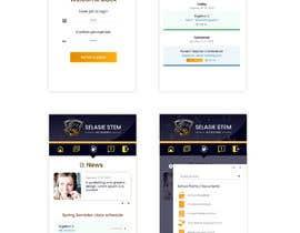 #73 untuk Redesign my mobile layout for my web app oleh SAUHBA