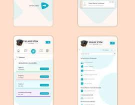 #84 untuk Redesign my mobile layout for my web app oleh SAUHBA