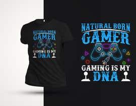 #55 untuk Gaming T-Shirt's oleh shaowna21