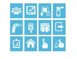 #22 untuk Medical Sensor Icons oleh yuliyayulli