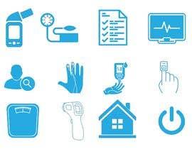#19 untuk Medical Sensor Icons oleh sajalahmed792