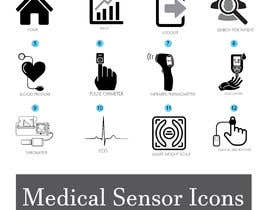 #17 for Medical Sensor Icons by alaminkhan1474