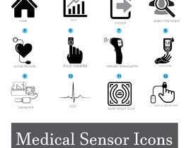 #17 untuk Medical Sensor Icons oleh alaminkhan1474