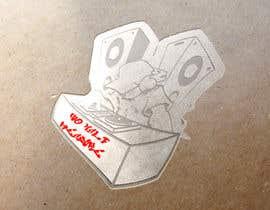 """#14 pentru Urban graffiti style graphic """"Old Skool"""" ravers de către martinamas094"""