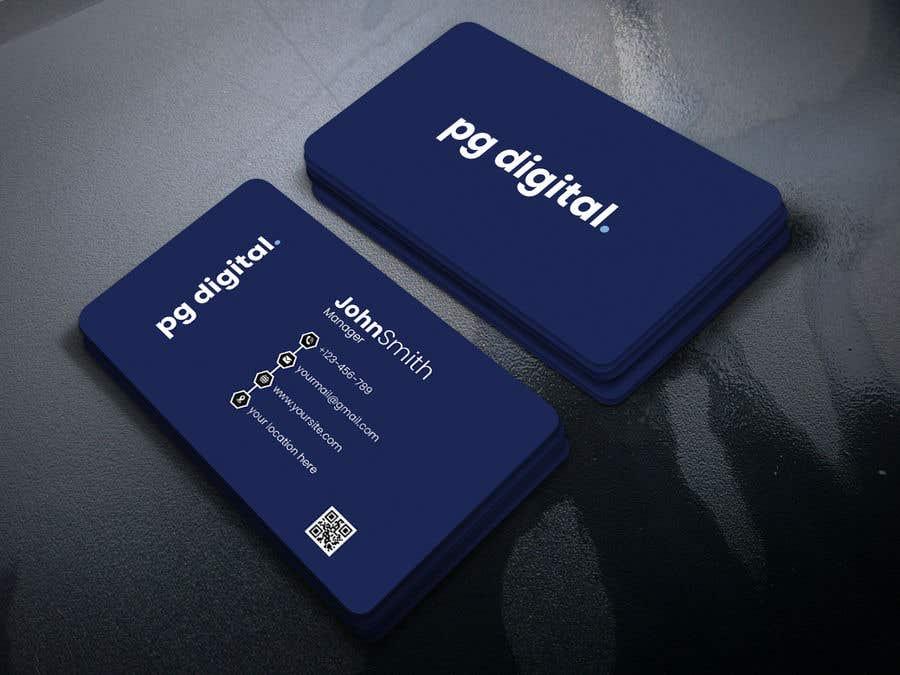 Bài tham dự cuộc thi #                                        72                                      cho                                         Business Card Design - PG