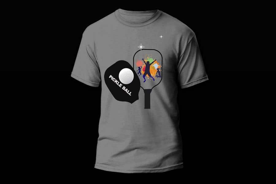 "Intrarea #                                        67                                      pentru concursul ""                                        Pickle Ball Wedding T Shirt Logo                                     """