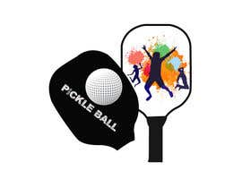 #68 cho Pickle Ball Wedding T Shirt Logo bởi freelancershafi1