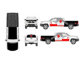 #13 untuk Vehicle Wrap Design DCH Enterprises oleh emonali55