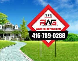Nro 35 kilpailuun New Real Estate Signage! käyttäjältä creativeabrar16