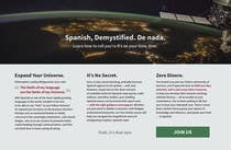 Copywriting Contest Entry #14 for Online Spanish Course - Landing Page