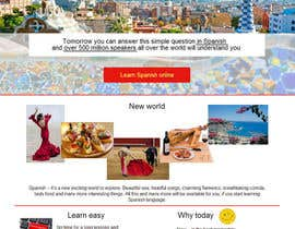 #7 for Online Spanish Course - Landing Page af maripoo
