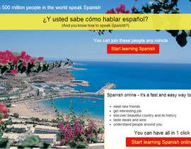 #11 for Online Spanish Course - Landing Page af maripoo