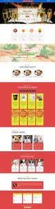 Konkurrenceindlæg #                                                35                                              billede for                                                 Html Website template