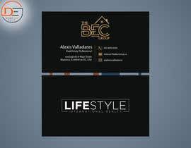 #49 untuk Alexis Valladares - Business Card Design oleh shaheyalam1