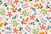 Bài tham dự #15 về Graphic Design cho cuộc thi Flower Pattern