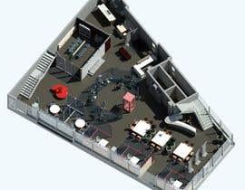 Nro 4 kilpailuun 3D Office Design Showcse käyttäjältä salirezaalaei