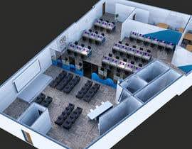 Nro 10 kilpailuun 3D Office Design Showcse käyttäjältä MohamedHesham32