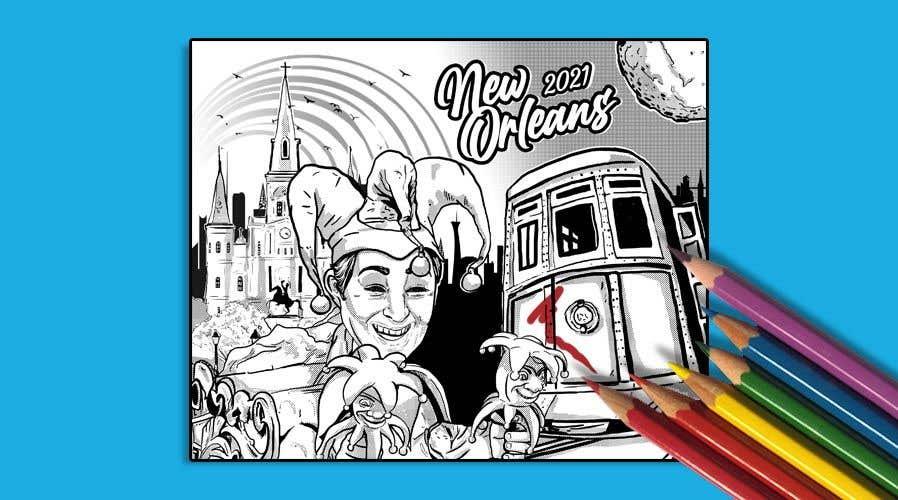Inscrição nº                                         21                                      do Concurso para                                         Hand drawn coloring page