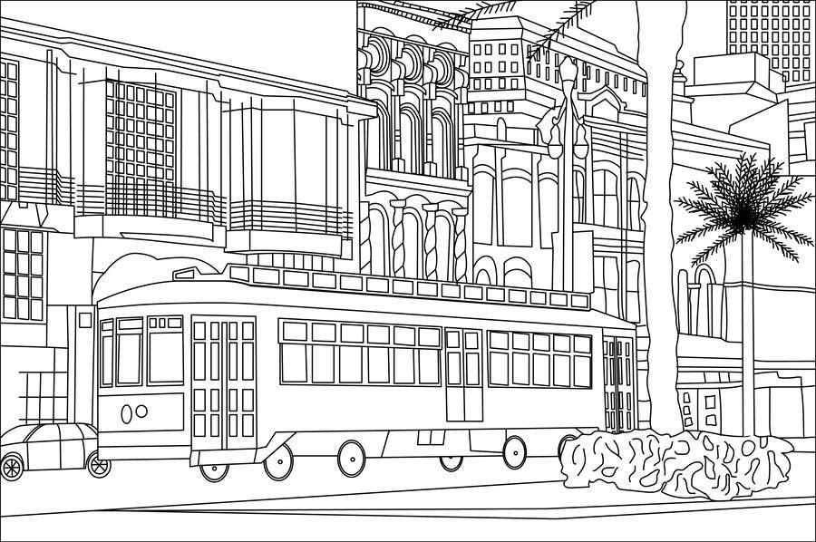 Inscrição nº                                         13                                      do Concurso para                                         Hand drawn coloring page