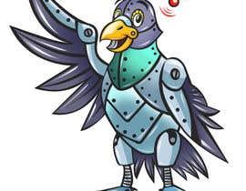 #21 untuk Create a robot bird cartoon oleh marstyson76
