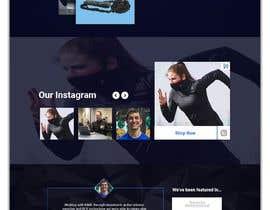 #35 untuk Completely New Design for a Website Page (Dark Theme) oleh habibfoysal