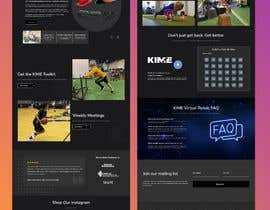 #26 untuk Completely New Design for a Website Page (Dark Theme) oleh rokib2000