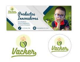 #43 untuk Crear un logotipo iconográfico y portada de Facebook oleh jeevanmalra