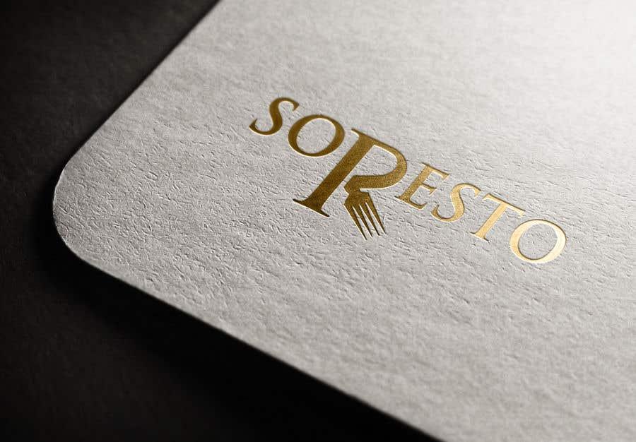 Penyertaan Peraduan #                                        431                                      untuk                                         Design logo for SORESTO