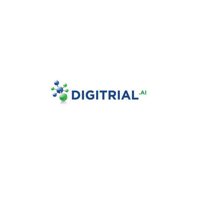 Penyertaan Peraduan #                                        90                                      untuk                                         Logo improvement for digitrial.ai